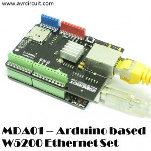 MRA05 - Arduino based W5200 Ethernet Set