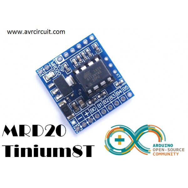 Arduino and ATtiny45 / ATtiny85 - HobbyTronics