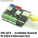 MDA01 - Arduino based W5200 Ethernet Set