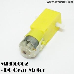 MRR002 - DC Gear Motor