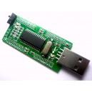 iCP12 - usbStick (USB DAQ, PC Oscilloscope, Data Logger, Frequency Generator, PIC18F2550 IO Board)