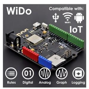 [DFR0321] DFRobot WiDo - Open Source IoT Node (Arduino Compatible)